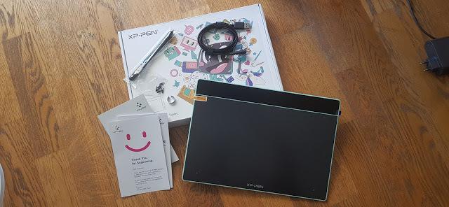 Accessoires de tablette graphique xp-pen deco fun