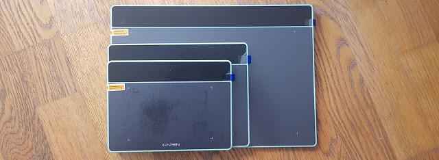 tablettes graphiques xp-pen deco fun