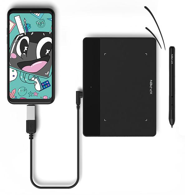 tablette graphique xp-pen deco fun compatible Android