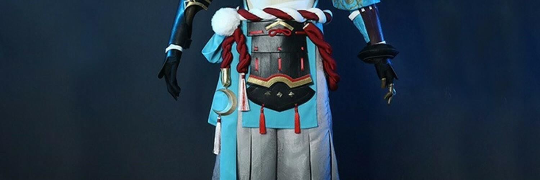 スプラトゥーン2イベント 原神ゴロー楓原万葉コスプレ衣装 画像