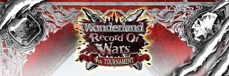 ワンダーランドウォーズ公式大会 ROW 4th DREAM 予選事前登録 画像