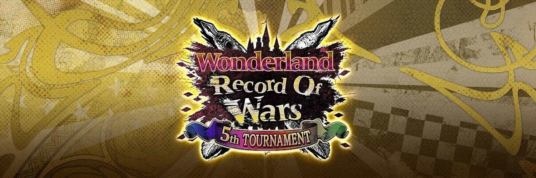 ワンダーランドウォーズ公式大会 ROW 5th TOURNAMENT 決勝大会 画像