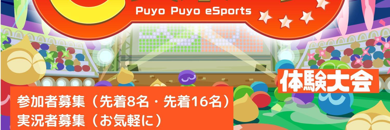 ぷよぷよイベント 第1回北海道室蘭ぷよぷよeスポーツ体験大会(3/14) 中止 画像