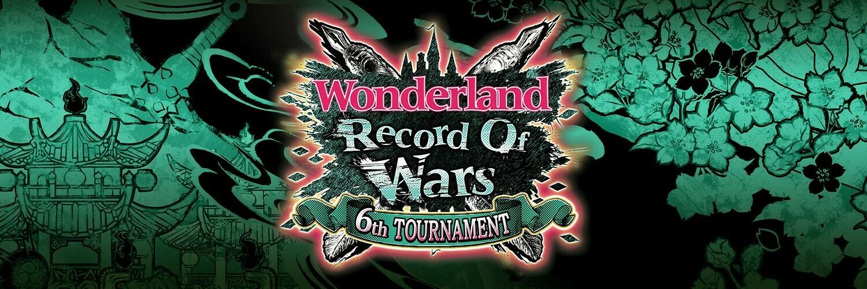 ワンダーランドウォーズ公式大会 ROW6th予選トーナメント※追加募集11/24 8:00迄 画像