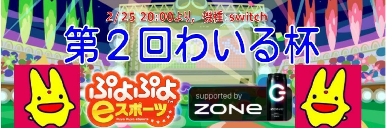 第2回わいる杯 (2/25 switch)