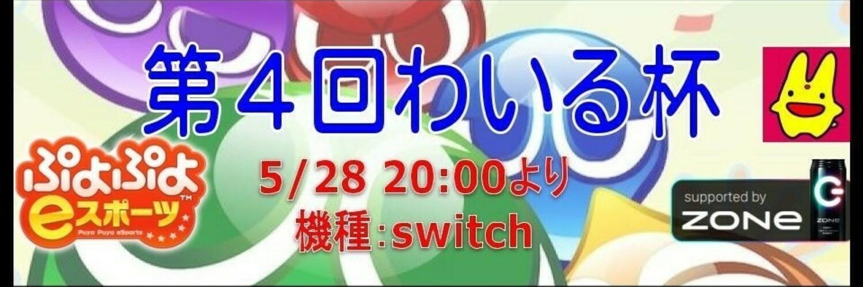 第4回わいる杯 (5/28 in switch)