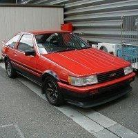 AE86赤